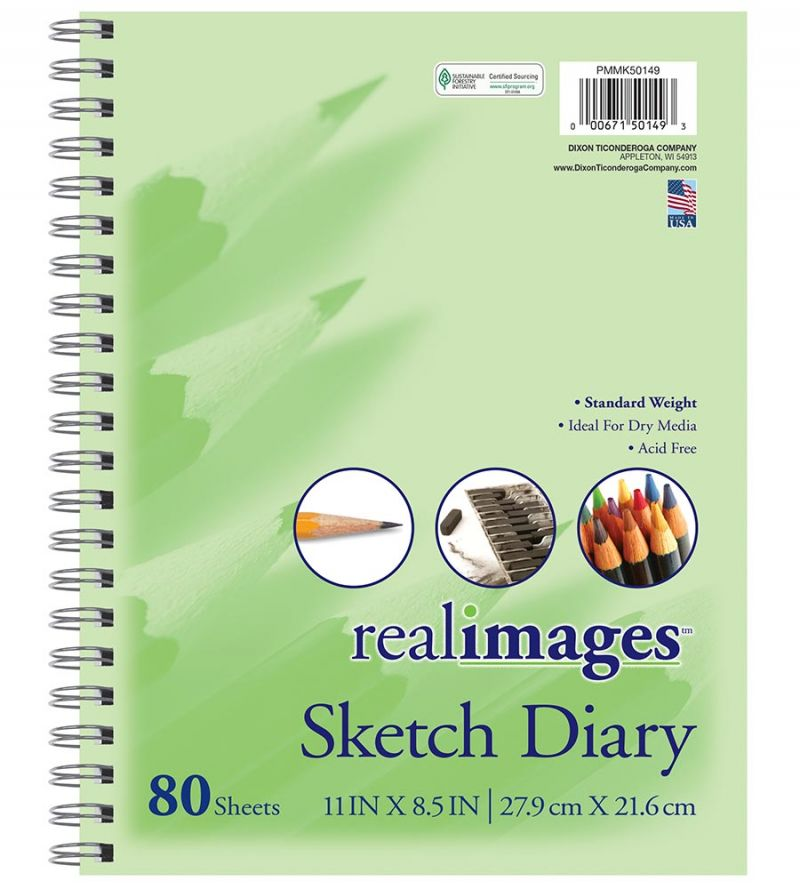 Real Images™ Sketch Diary