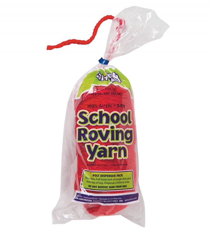 3-Ply School Roving Yarn Skein
