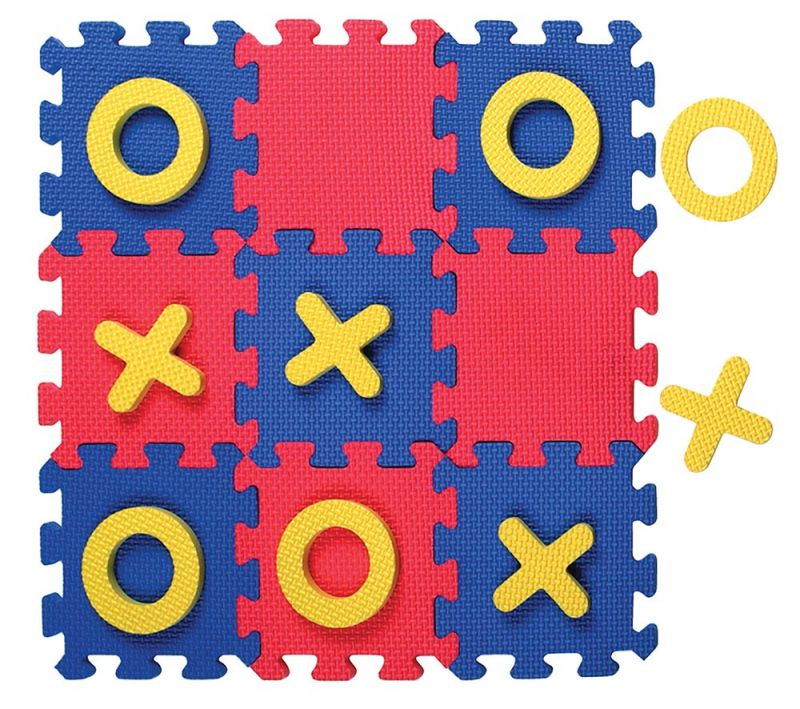 WonderFoam® Tic-Tac-Toe Puzzle Mat