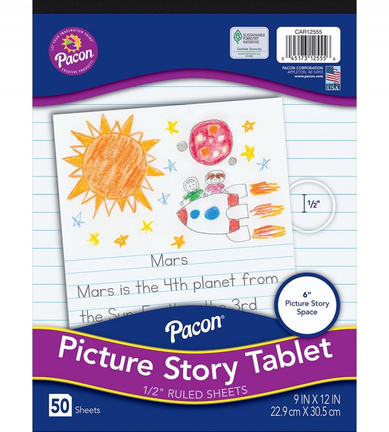 Pacon® Multi-Program Picture Story Tablet
