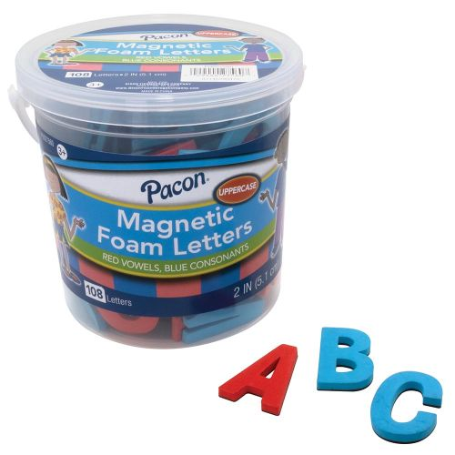 Pacon® Magnetic Foam Letters