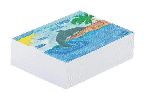 "Pacon® Newsprint Paper  White Newsprint  8.5"" x 11"""