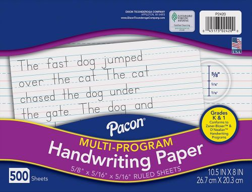 Pacon® Multi-Program Handwriting Paper