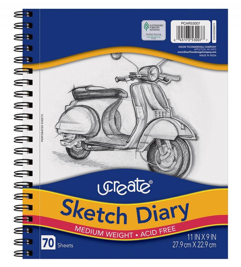 UCreate® Sketch Diary