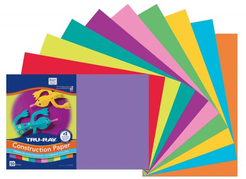 Tru-Ray® Construction Paper