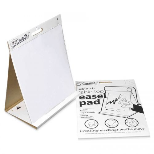 GoWrite!® Self-Stick Table Top Easel Pad