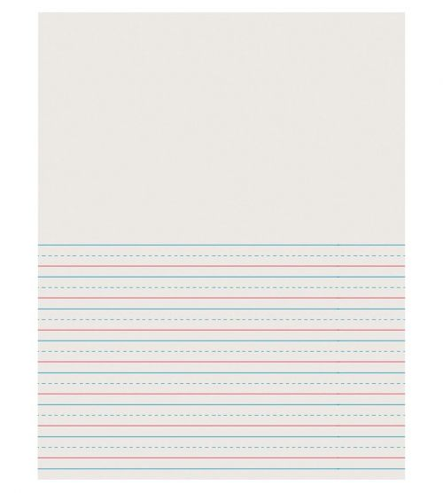 Pacon® Newsprint Handwriting Paper