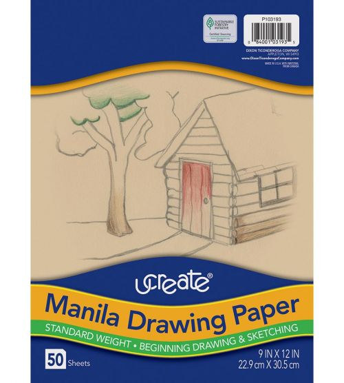 UCreate® Drawing Paper