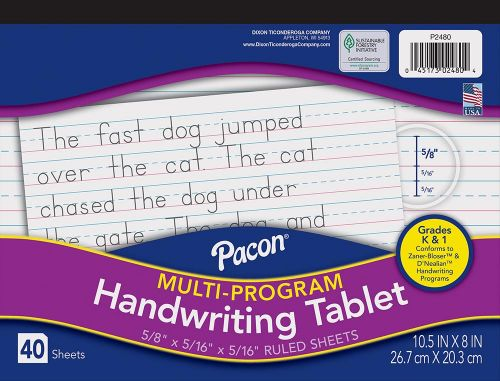 Pacon® Multi-Program Handwriting Tablet