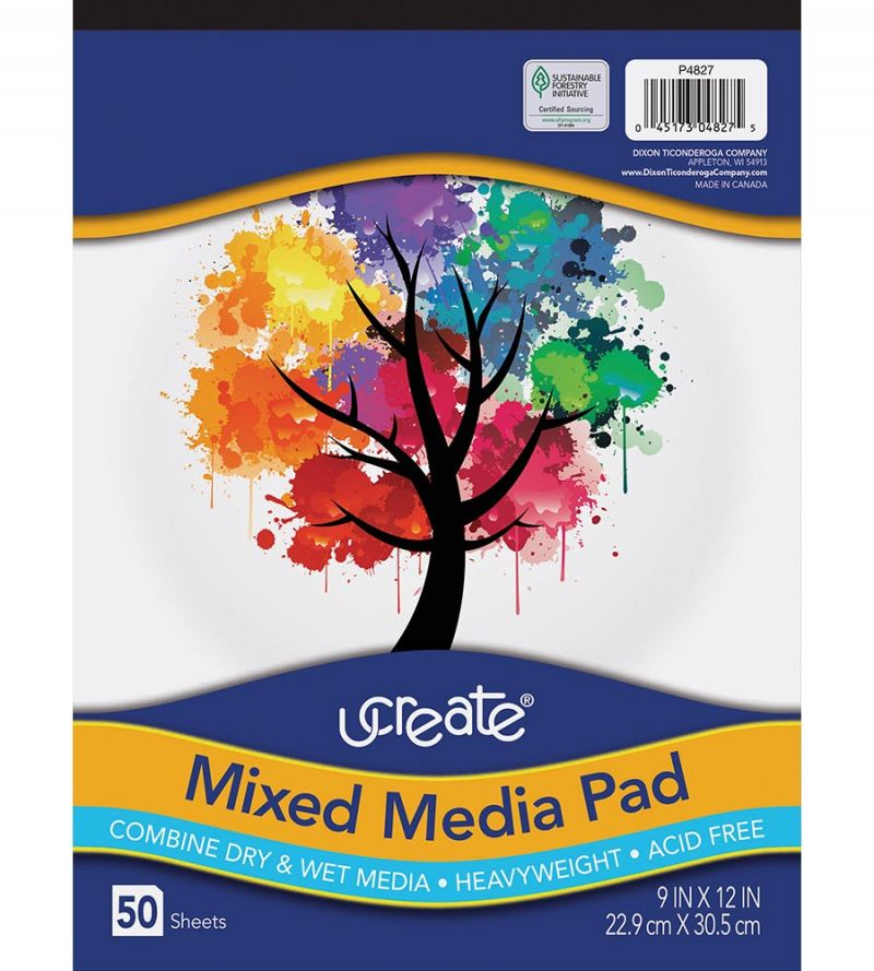 UCreate® Mixed Media Journal Pad
