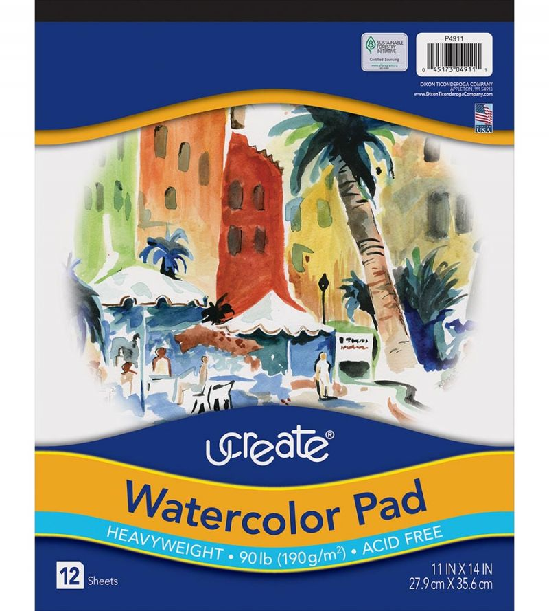 UCreate® Watercolor Pad