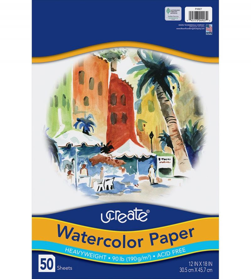 UCreate® Watercolor Paper