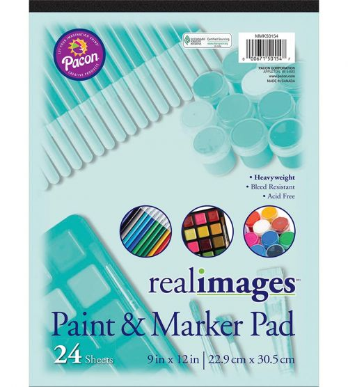 Real Images™ Paint & Marker Pad