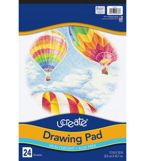 UCreate® Drawing Paper Pad