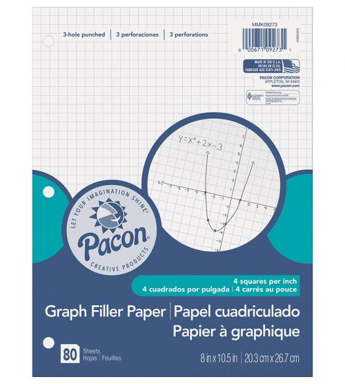 Pacon® Graphing Paper