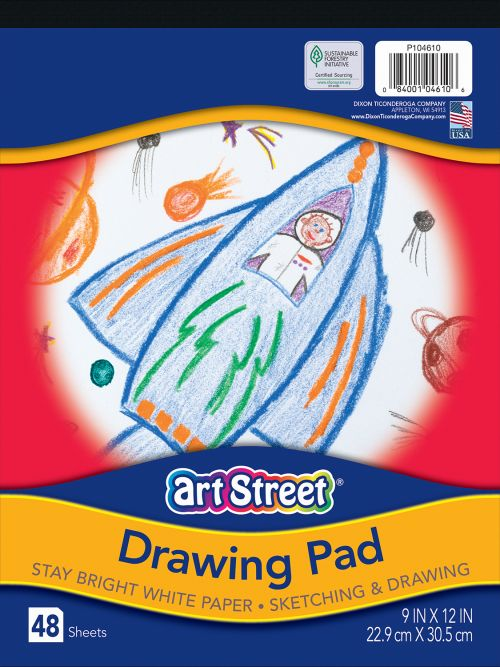 Art Street® Drawing Paper Pad