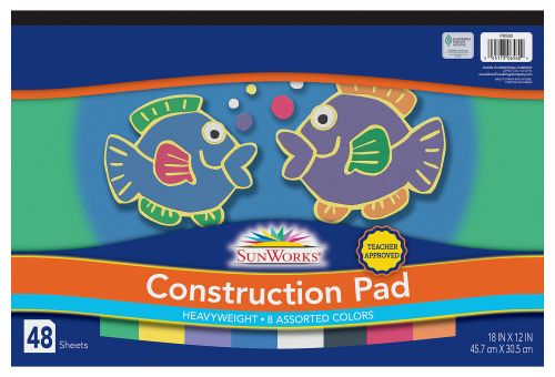 SunWorks® Heavyweight Construction Paper Pad