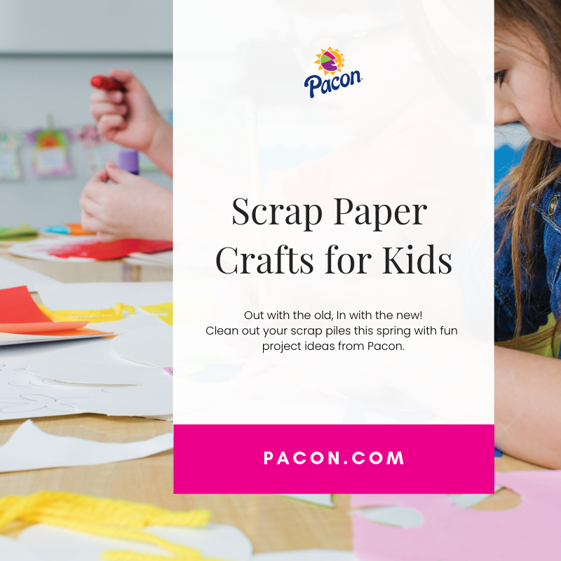 Scrap Paper Crafts for Kids - Celebrating National Craft Month