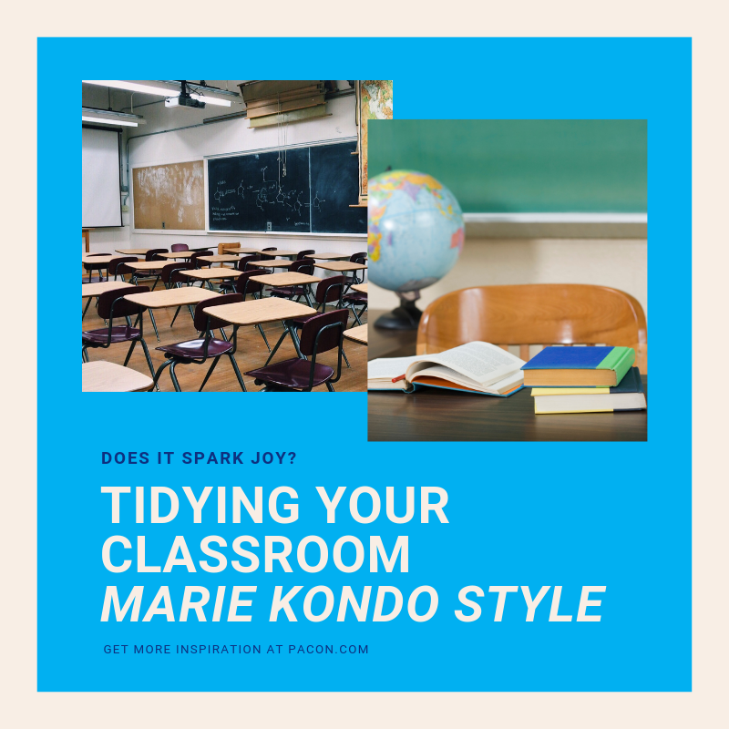 Tidying Up Your Classroom - Marie Kondo Style