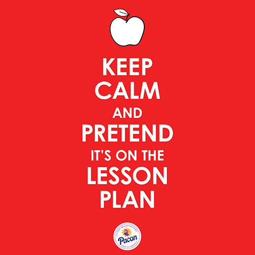 Keep Calm and Pretend