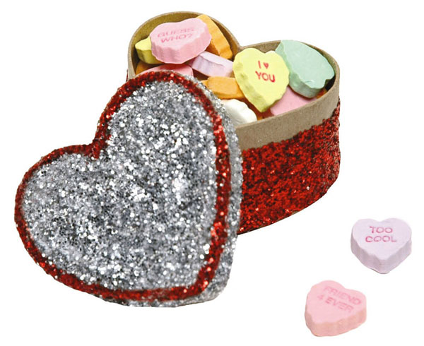 Glitter Heart Box - Valentine's Day Crafts for Kids