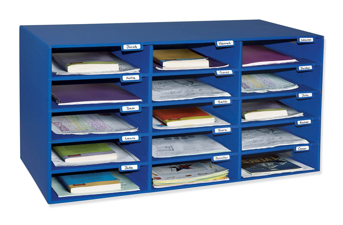 Classroom Keepers® 15-Slot Mailbox