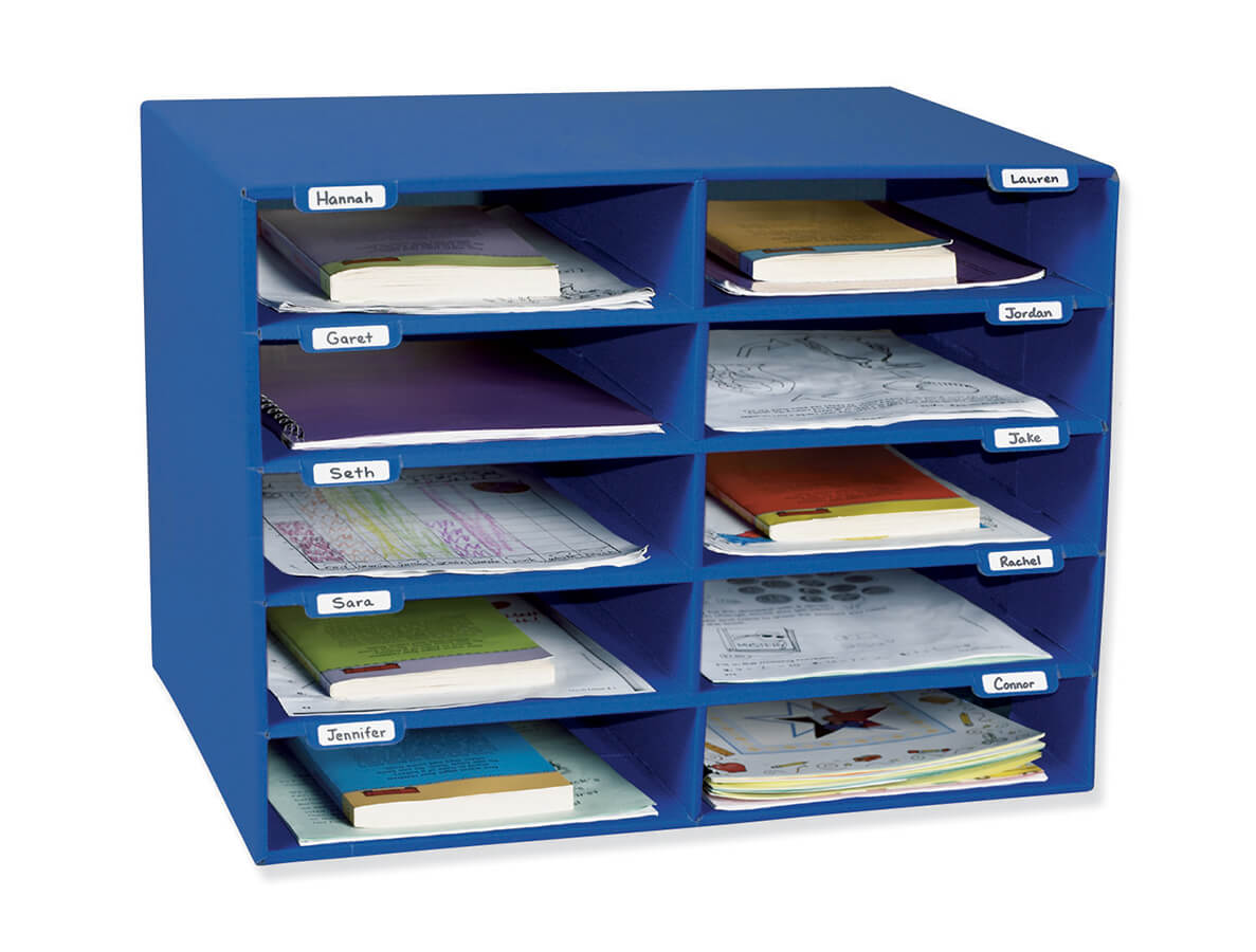Classroom Keepers® 10-Slot Mailbox