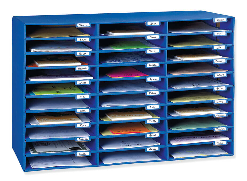 Classroom Keepers® 30-Slot Mailbox