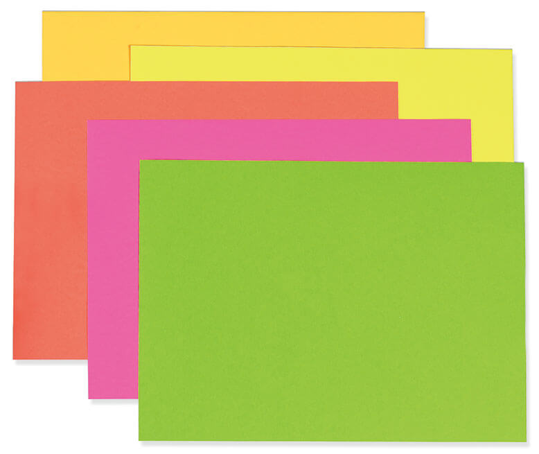 UCreate® Neon Poster Board - Pacon Creative Products