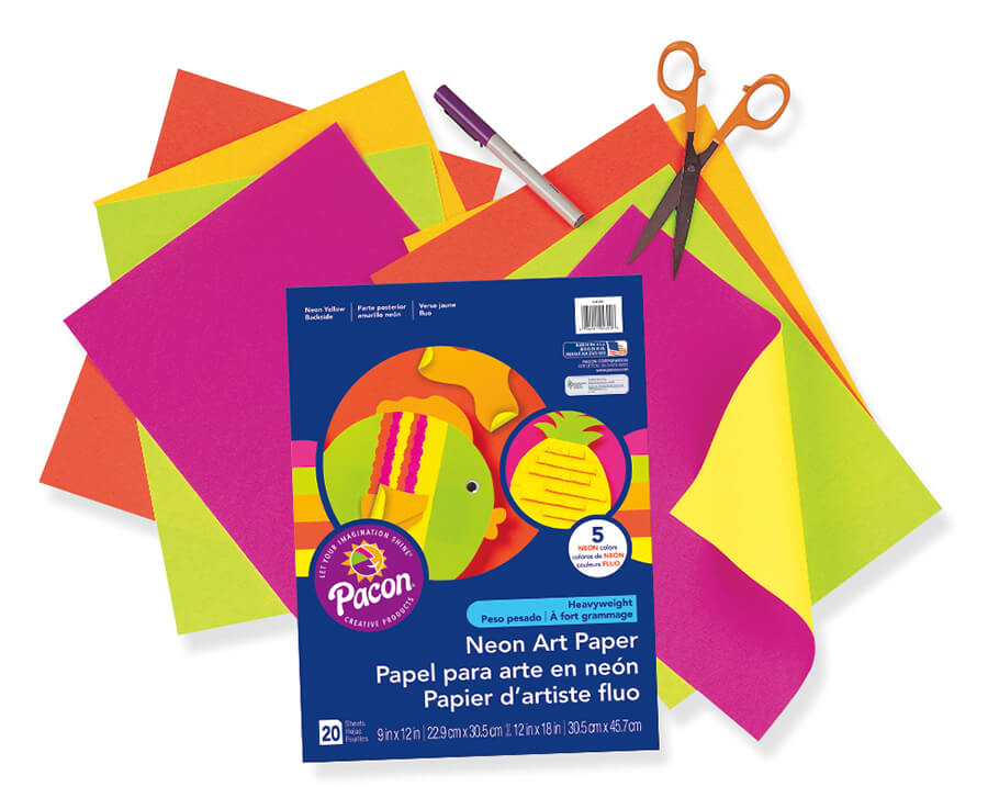 Pacon® Neon Art Paper