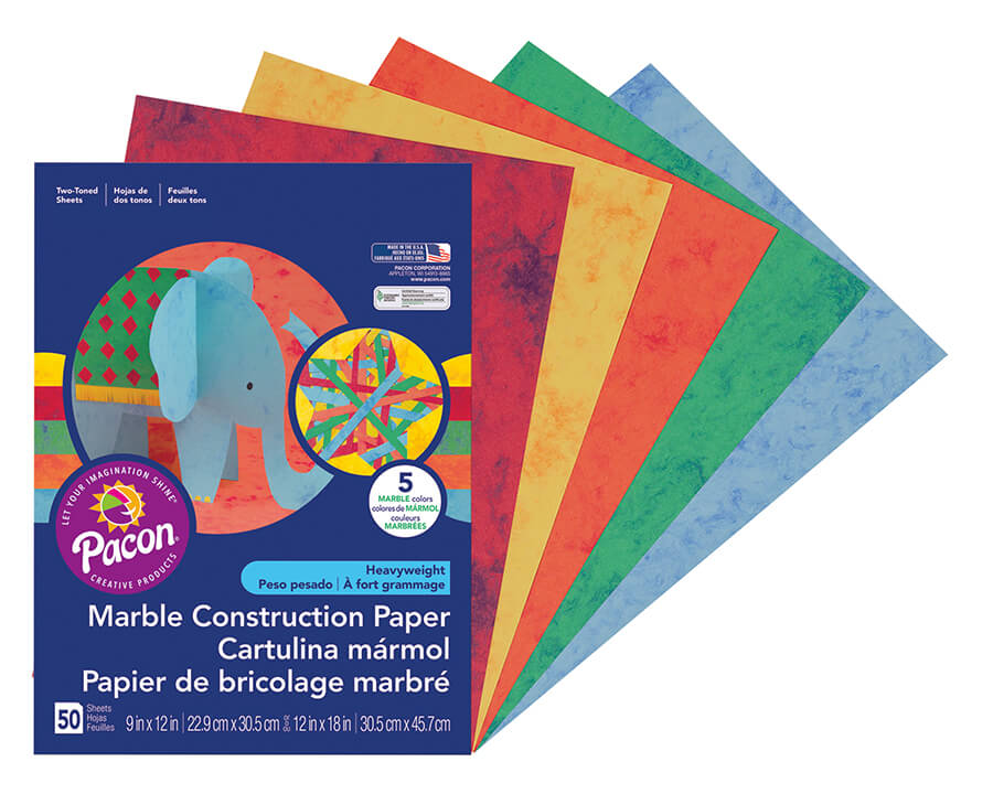 Pacon® Marble Construction Paper