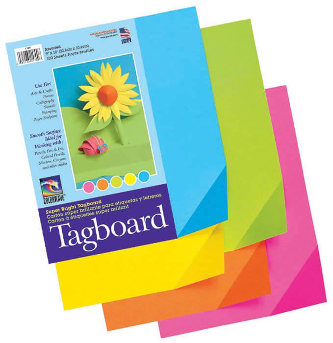 Pacon® Super Bright Tagboard