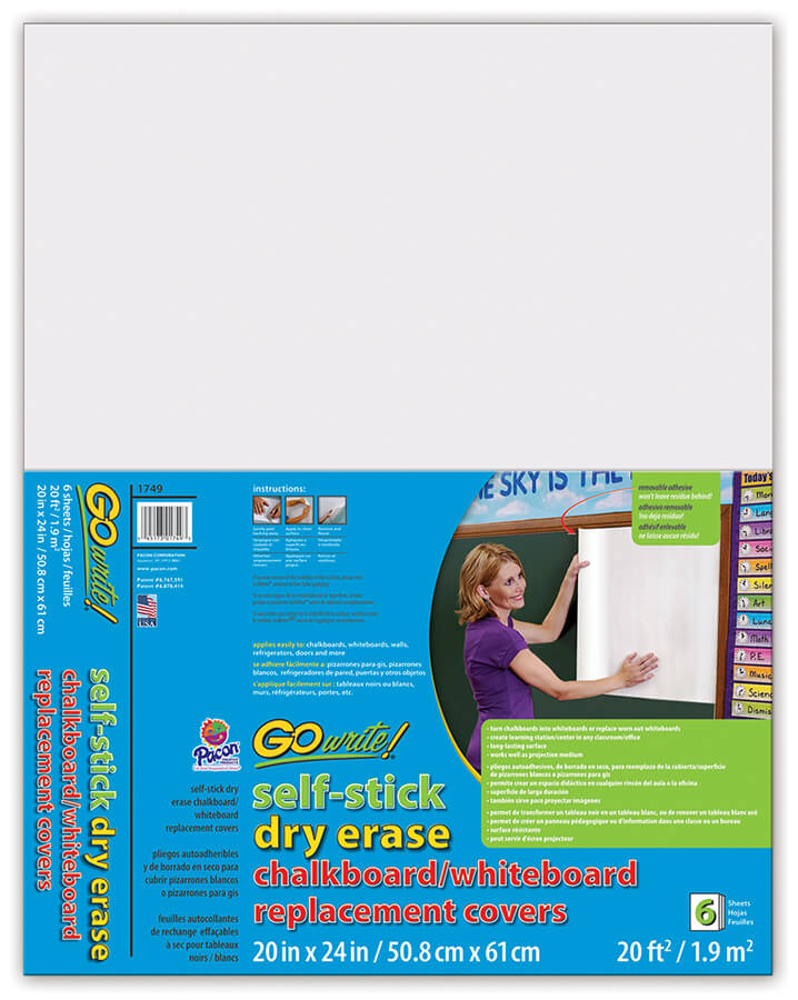 GoWrite!® Dry Erase Replacement Board Covers