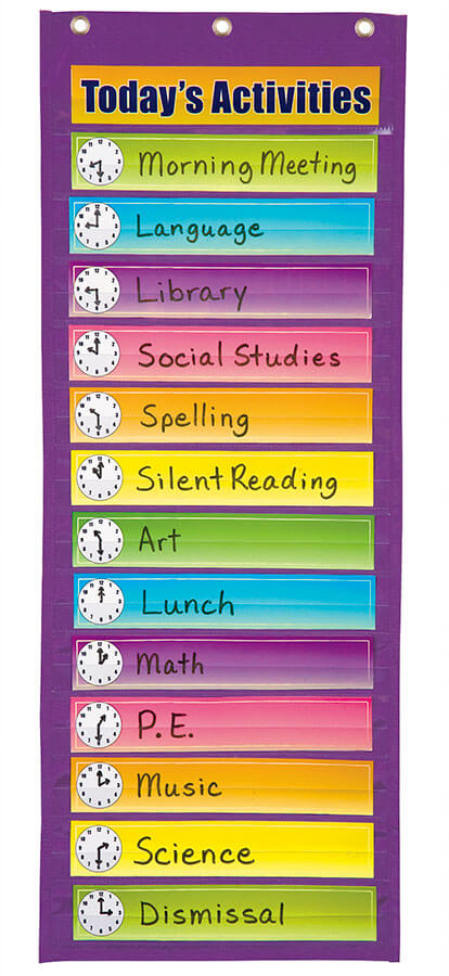 Pacon® Dry Erase Activity Pocket Chart