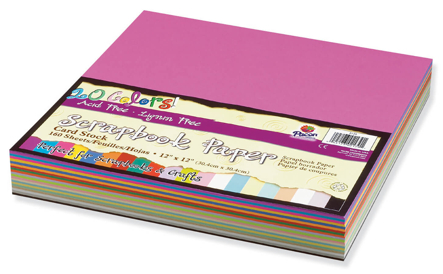 Pacon® Scrapbook Paper Value Assortment