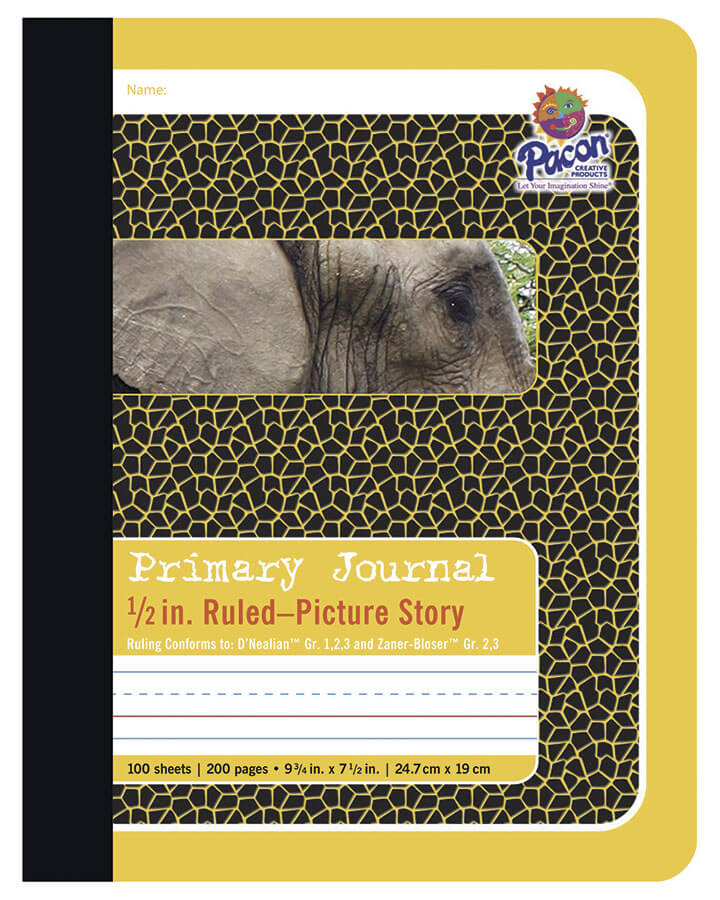 Pacon® Composition Book, Yellow Elephant