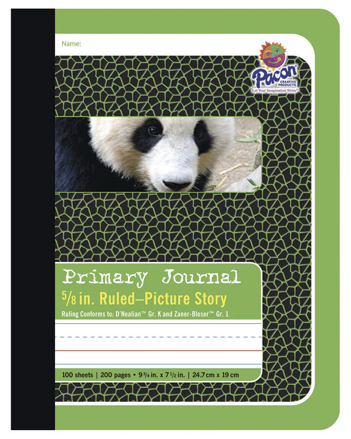 Pacon® Composition Book, Green Panda