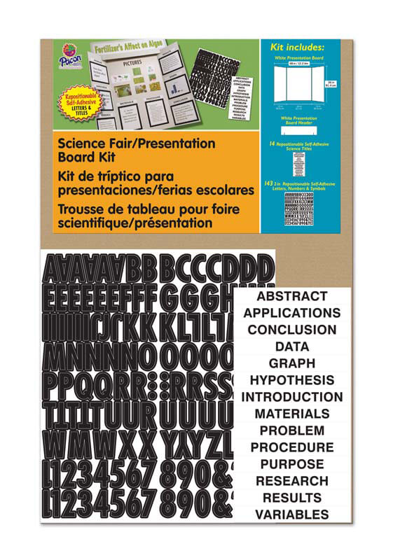 Pacon® Corrugated Presentation Board Kit