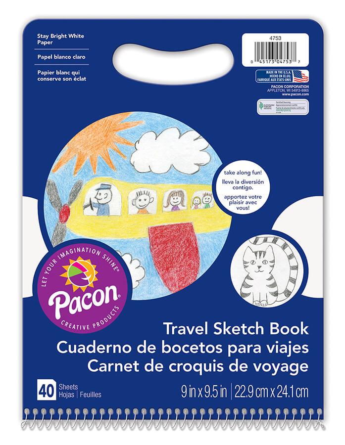 Pacon® Travel Sketch Book