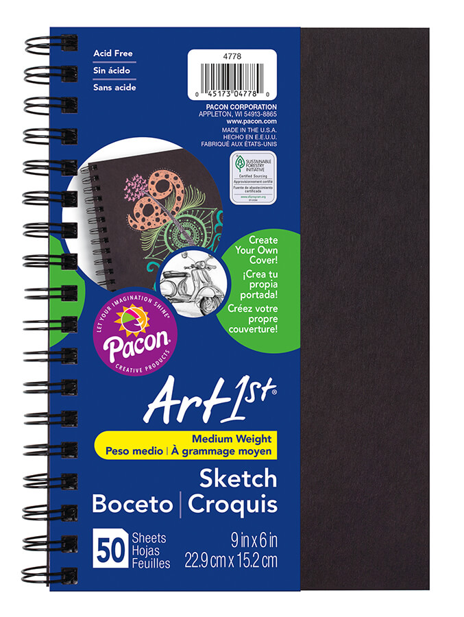 Art1st® Create Your Own Sketch Diary