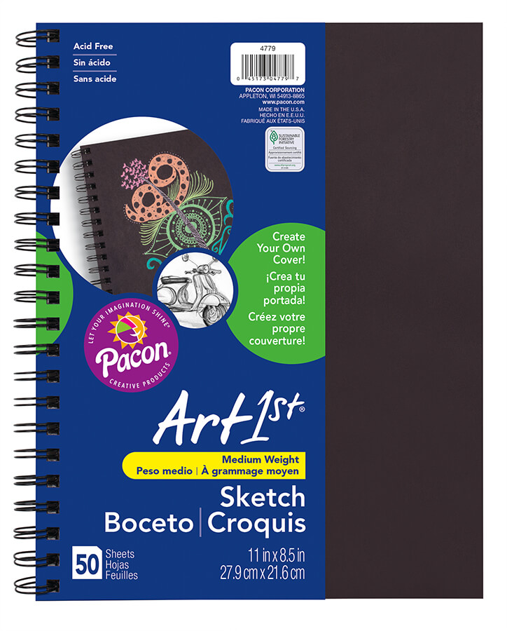 Art1st® Create Your Own Cover Sketch Diary
