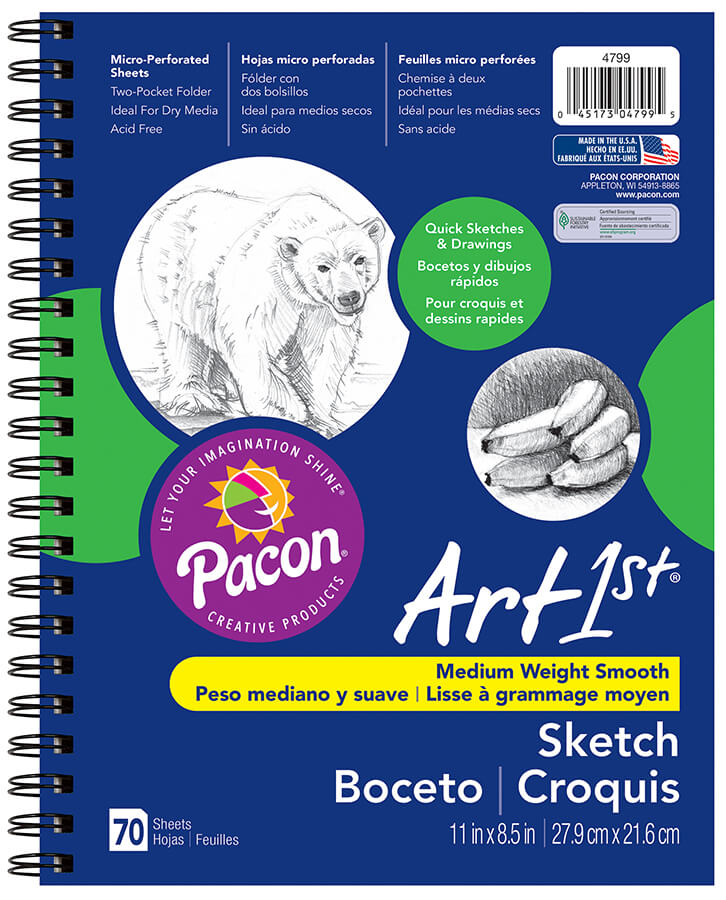 Art1st® Sketch Diary with Pocket
