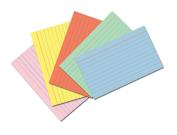 pacon index cards assorted colors 3 x 5 75 cards view details