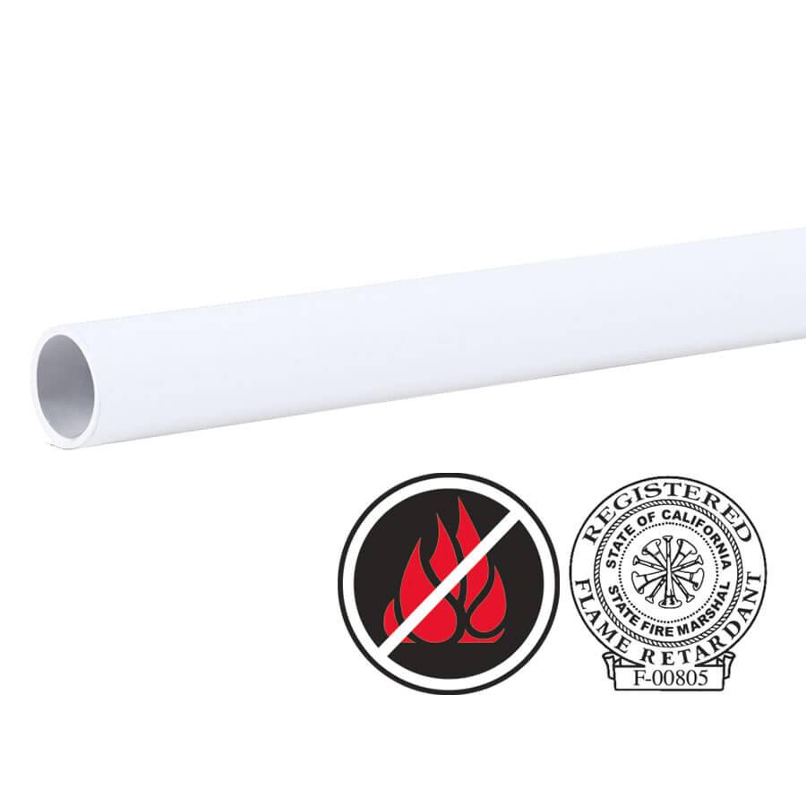 Frost White Flameless Flame Retardant Paper