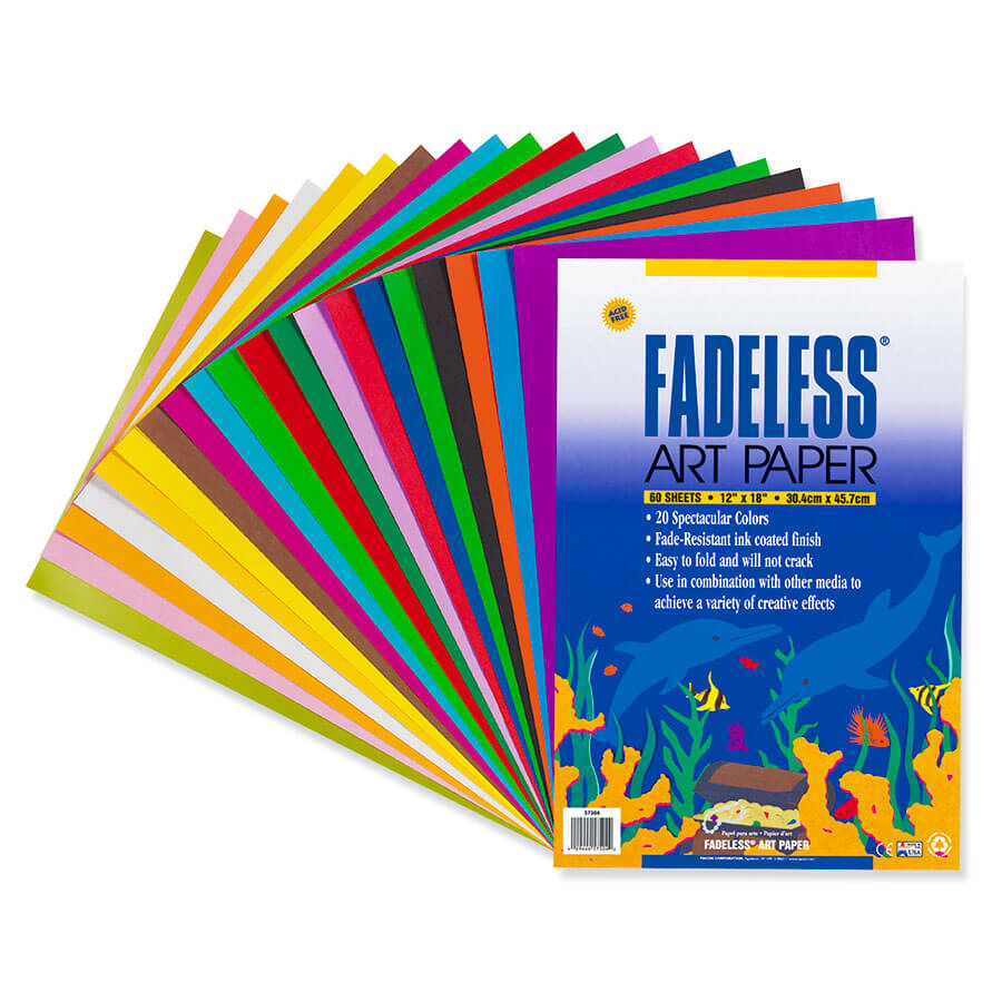 Fadeless® Paper Assorted