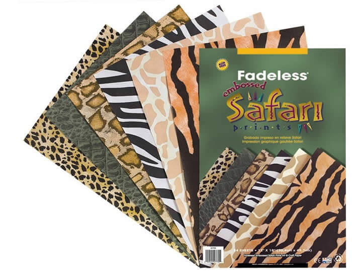 Fadeless® Safari Prints Paper