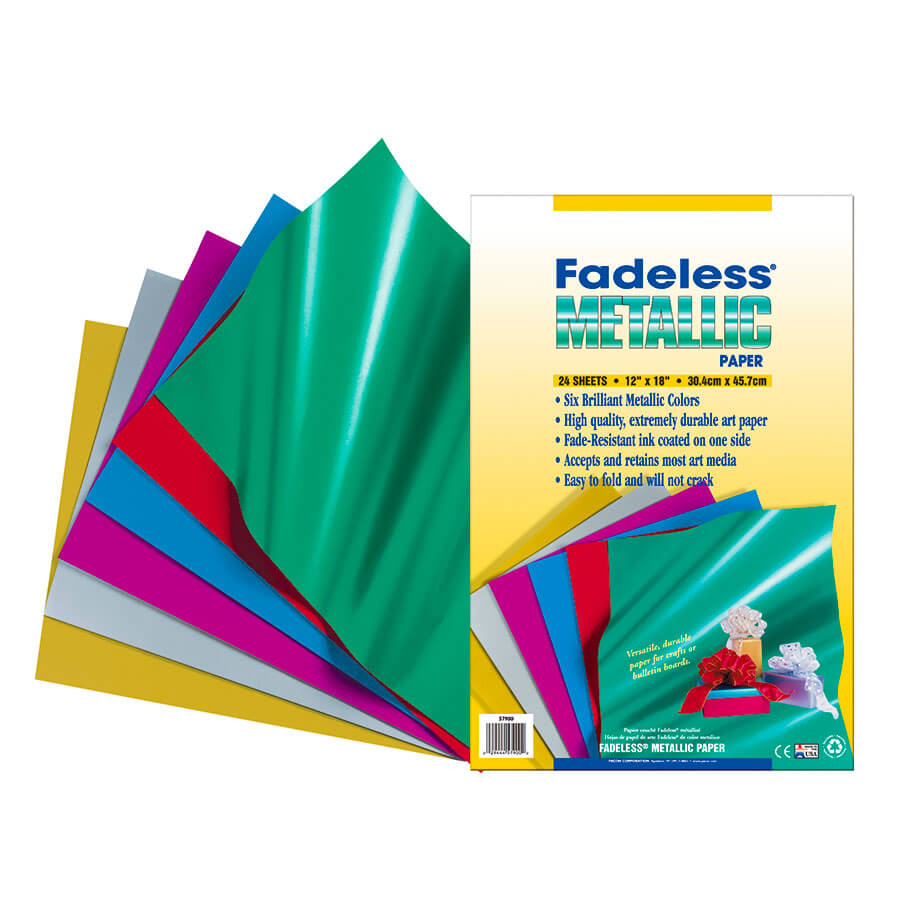 Fadeless® Metallic Paper