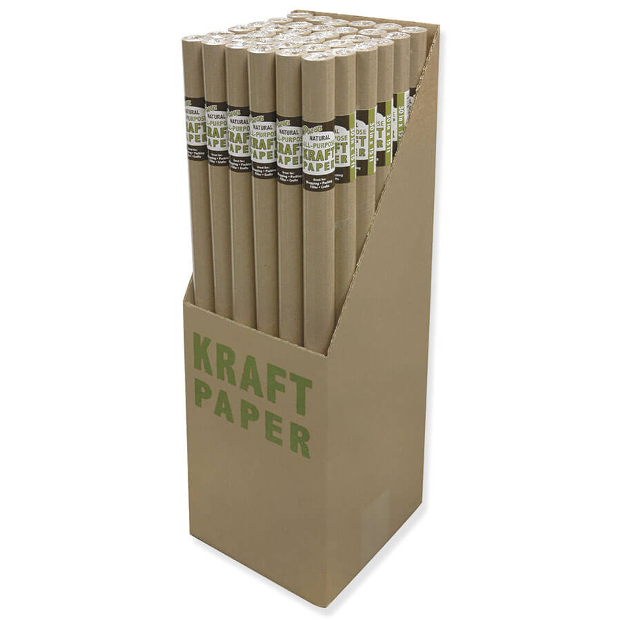 Pacon® Kraft Roll PDQ Display