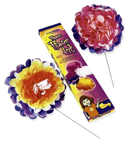 KolorFast® Tissue Flower Kit
