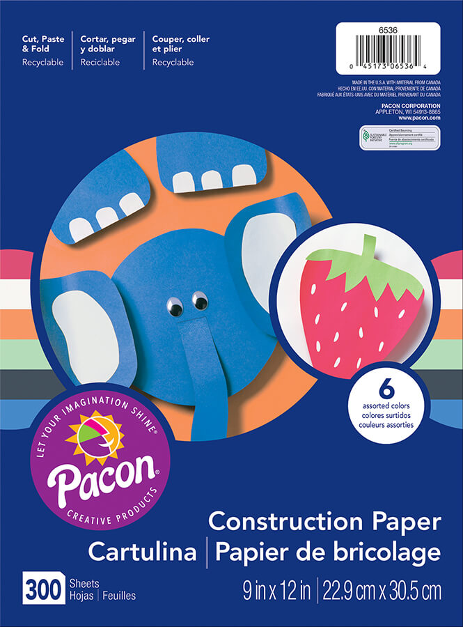 Pacon® Lightweight Construction Paper